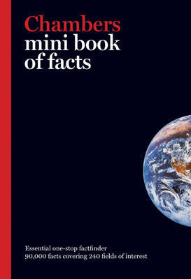 Chambers Mini Book of Facts by . Chambers image