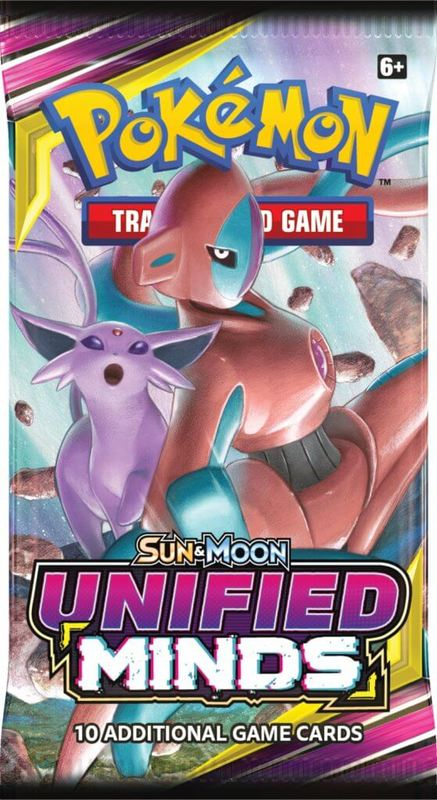 Pokemon TCG: Unified Minds - Booster Pack (10 Cards)