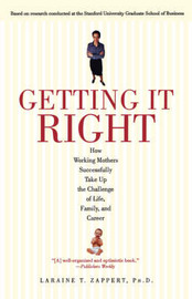Getting It Right by Laraine T Zappert image
