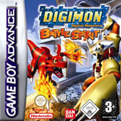 Digimon Battle Spirit for Game Boy Advance