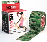 RockTape Active Recovery Series - Green Camouflage (5cm x 5m)