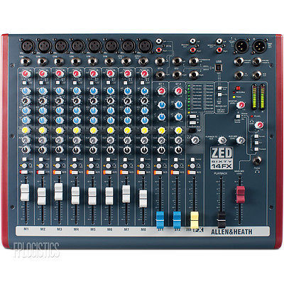 ZED-16FX Multipurpose USB Mixer With FX For Live Sound And Recording