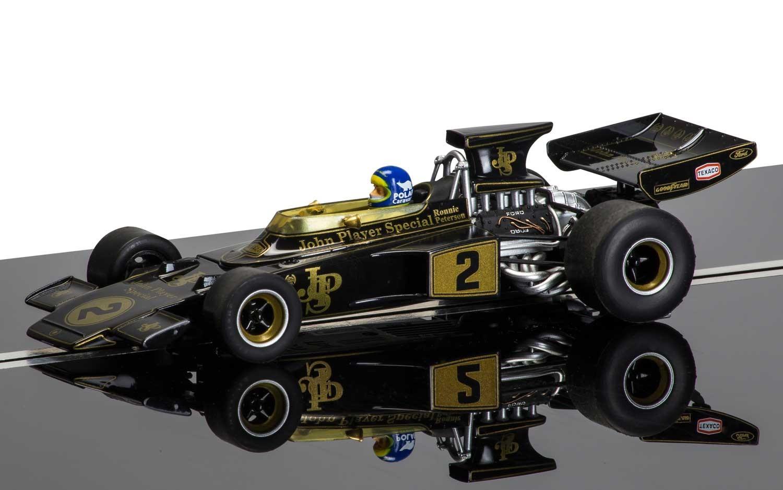 Scalextric: Legends Team Lotus 72 (Black/Gold) image