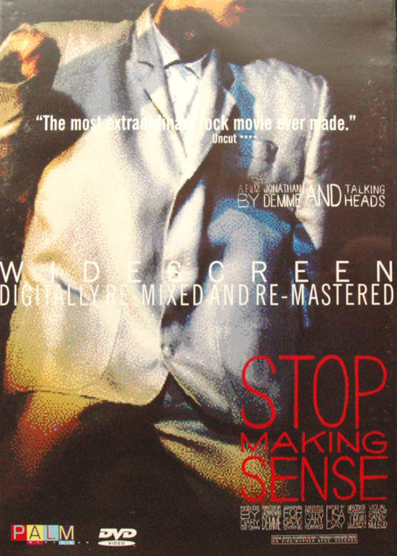Talking Heads - Stop Making Sense on DVD