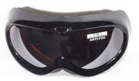 Mountain Wear Kids Goggles: Black (G1345)