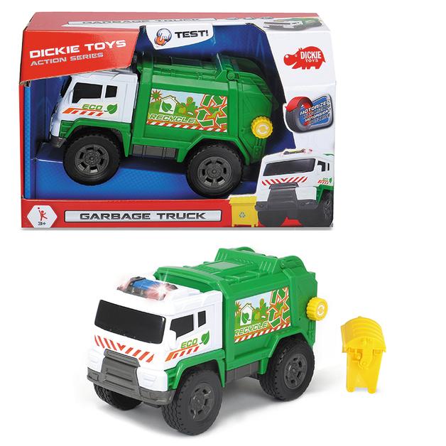 Dickie Toys: Garbage Truck - Motorised Vehicle
