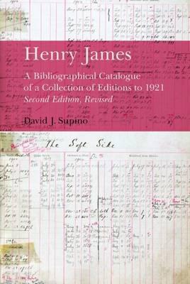 Henry James by David J. Supino image