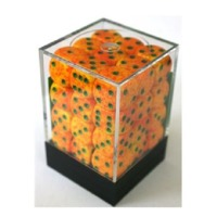 Chessex: D6 Speckled Cube Set (12mm) - Lotus