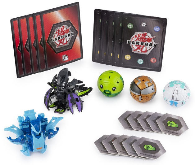 Bakugan: Battle Planet - Battle Pack (Aquos Nobilious & Darkus Krakelios)