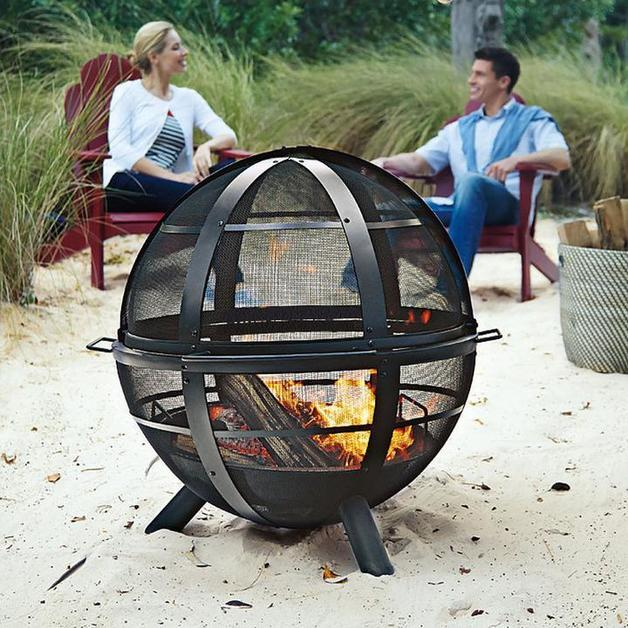 FireBall Steel Fire Pit   Large (76x90cm) image