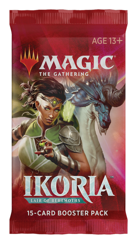 Magic the Gathering: Ikoria: Lair of Behemoths - Draft Booster