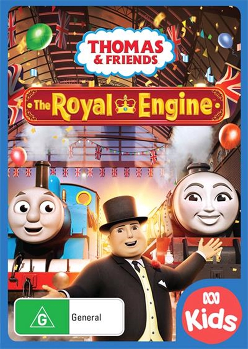 Thomas & Friends: The Royal Engine on DVD image