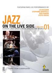 Jazz On The Live Side - Vol 01 on DVD