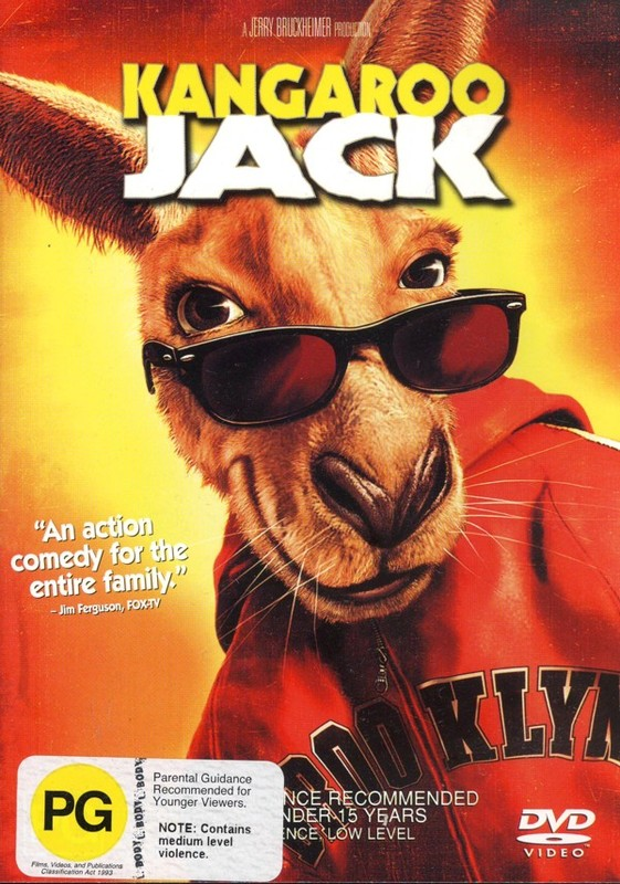 Kangaroo Jack on DVD