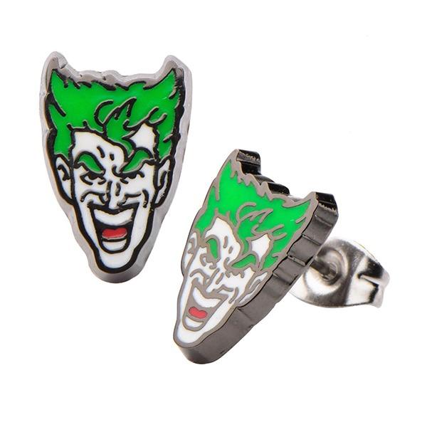 Batman Joker Face Stud Earrings