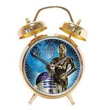 Star Wars Gold Alarm Clock