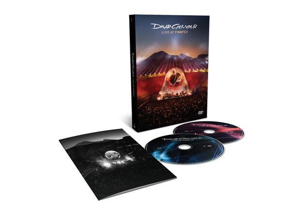 Live At Pompeii on 2DVD by David Gilmour