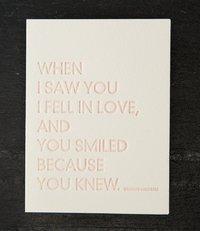 Greeting Card - Shakespeare