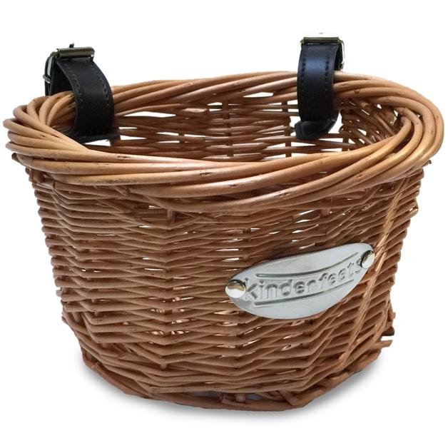 Kinderfeet: Wicker Basket - Balance Bike Accessory