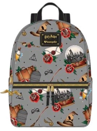 Loungefly: Harry Potter - Props Print Backpack