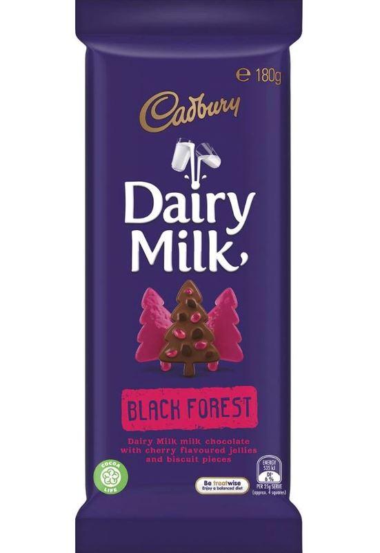 Cadbury Dairy Milk Black Forest (180g)