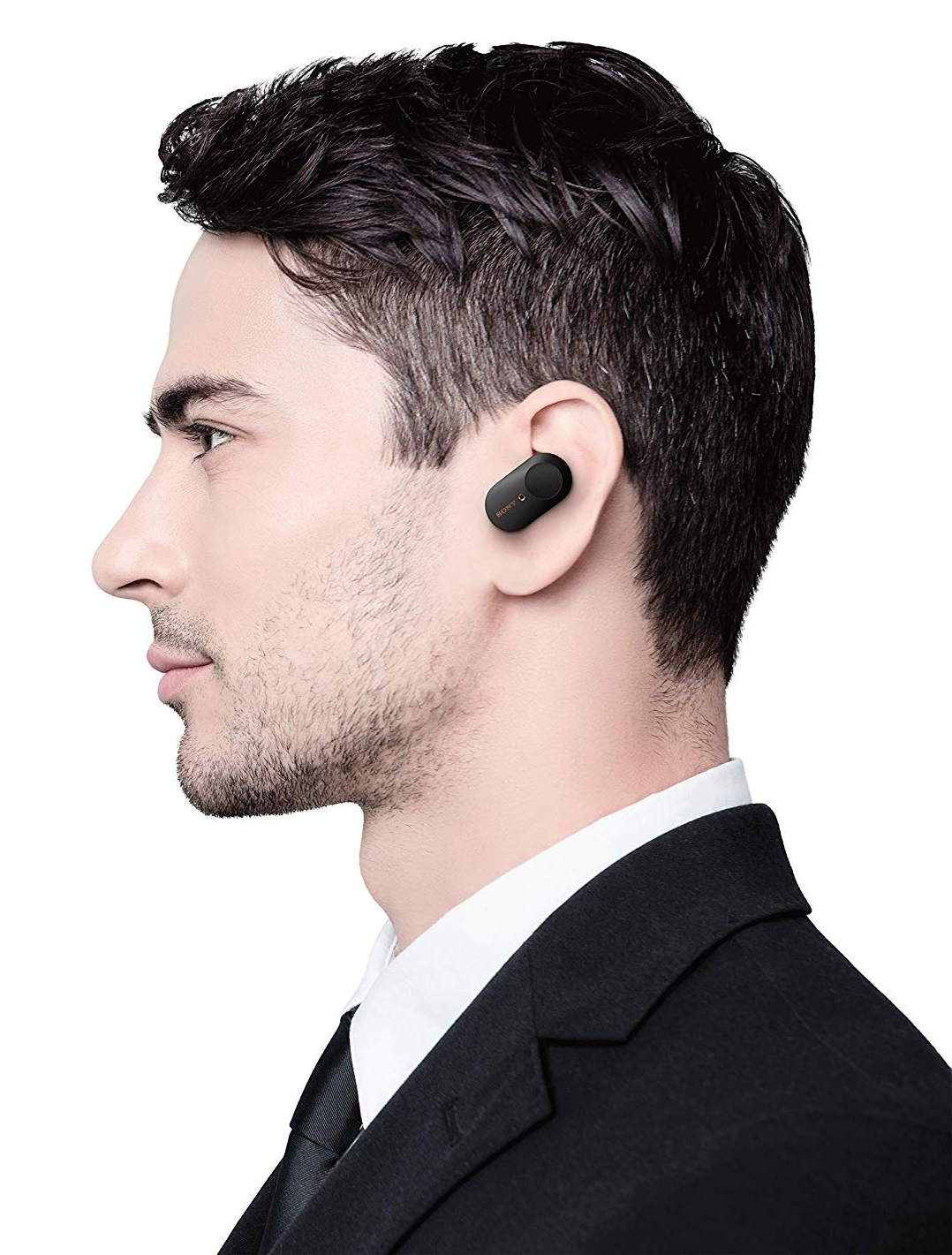 Sony WF-1000XM3 Industry Leading Noise Canceling Truly Wireless Earbuds - Black image