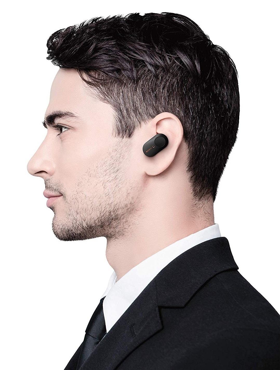 Sony WF-1000XM3 True Wireless Noise Cancelling In-Ear Headphones (Black) image