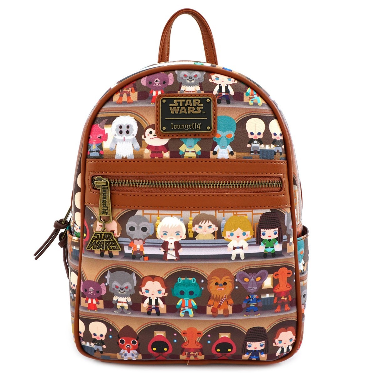 Loungefly: Star Wars - Cantina Chibi Mini Backpack image