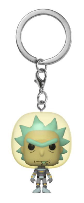 Rick & Morty: Space Suit Rick - Pocket Pop! Keychain