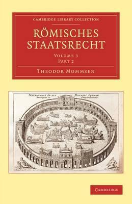 Romisches Staatsrecht by Theodor Mommsen image