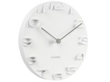 Karlsson On the Edge Wall Clock (White)