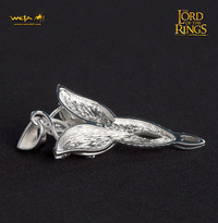 Lord of the Rings Evenstar Sterling Silver & CZ Pendant - by Weta image