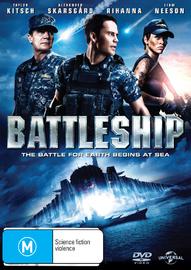 Battleship on DVD
