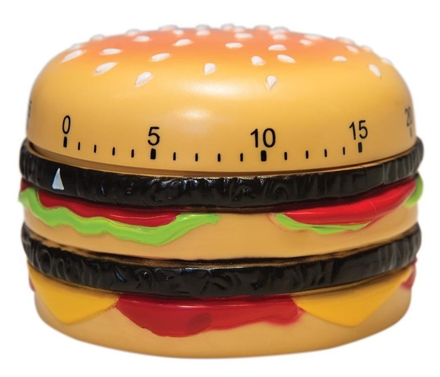 Burger Time - Kitchen Timer | at Mighty Ape Australia