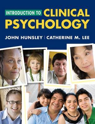Introduction to Clinical Psychology: An Evidence-Based Approach by John D Hunsley image