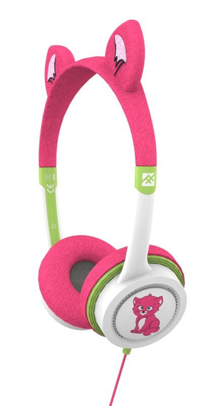 iFrogz: Little Rockers Costume Kids Headphones - Kitten
