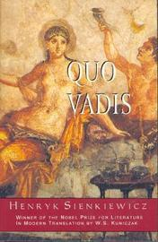 Quo Vadis by Henryk Sienkiewicz image