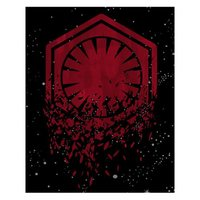 Star Wars: The Last Jedi Canvas Print - Deconstructed First Order