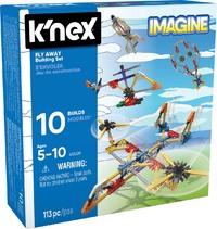 K'Nex: Fly Away - Building Set (113pc)