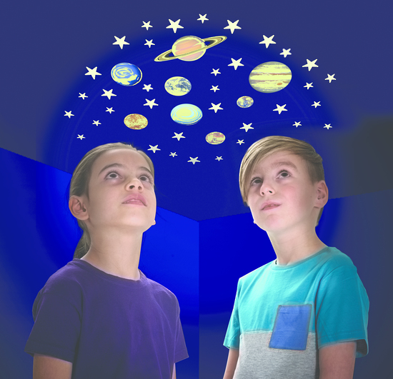 Glow Stars - Glow In The Dark Stars & Planets | Toy | at