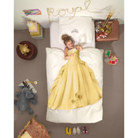 Snurk: Quilt Cover Set Princess Yellow - Single