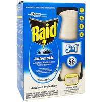 Raid 185G Automatic Advanced Multi-Insect Control System Indoor Unit Odourless