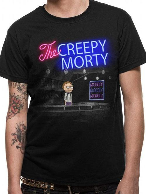 Rick and Morty: Bartender Morty Tee - Small