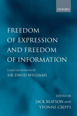 Freedom of Expression and Freedom of Information image