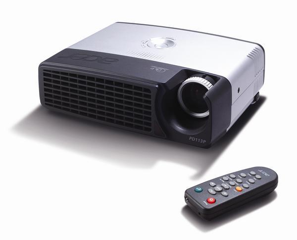 Acer Projector DLP SVGA 1700 LMNS 2000:1 Contrast PD113P image