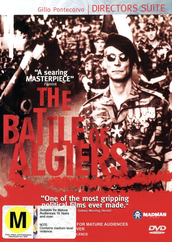 Battle Of Algiers on DVD