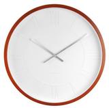 Karlsson Mr White Wooden Roman Numerals Wall Clock