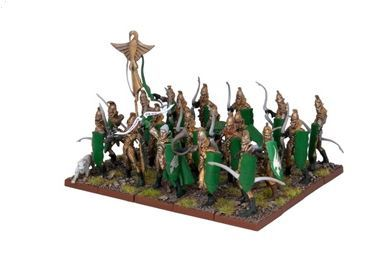 Kings of War Elf Bowmen Regiment