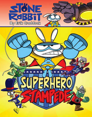 Superhero Stampede by Erik Craddock image