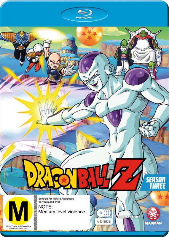Dragon Ball Z - Season 3 on Blu-ray